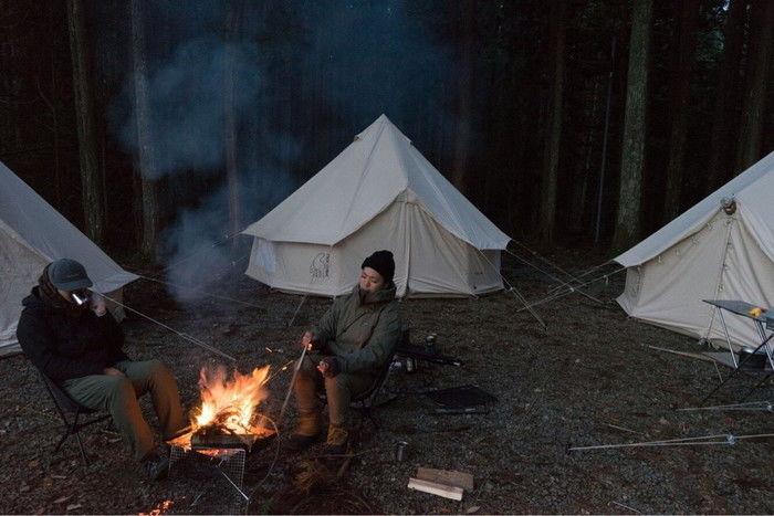 焚き火とアスガルド