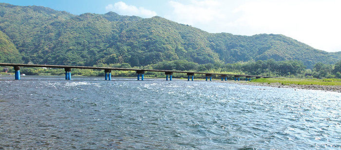 四万十川の景色