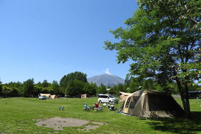 北軽井沢スウィートグラスのキャンプサイト