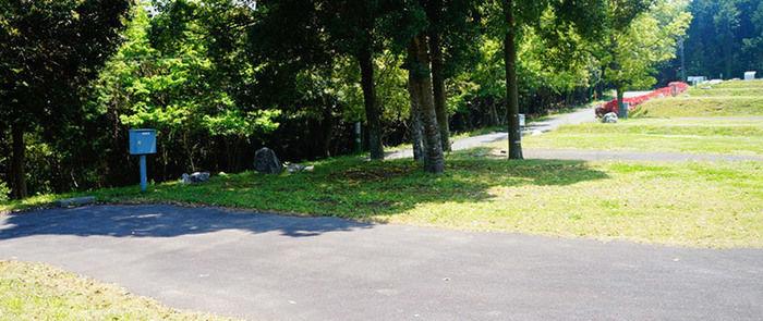 秋吉台家族旅行村芝生の広場の写真