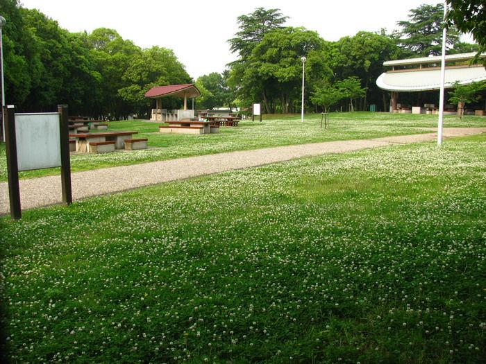 服部緑地公園のハーベックマルシェ