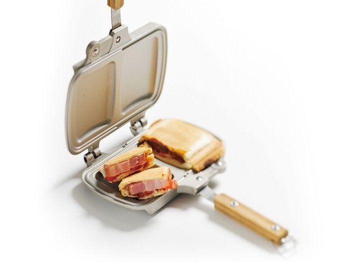スノーピーク ホットサンドクッカー 調理器具