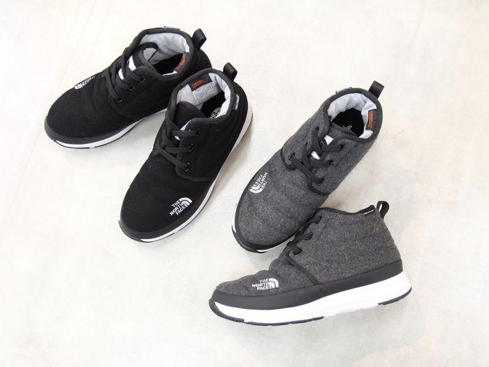 ノースフェイスの靴