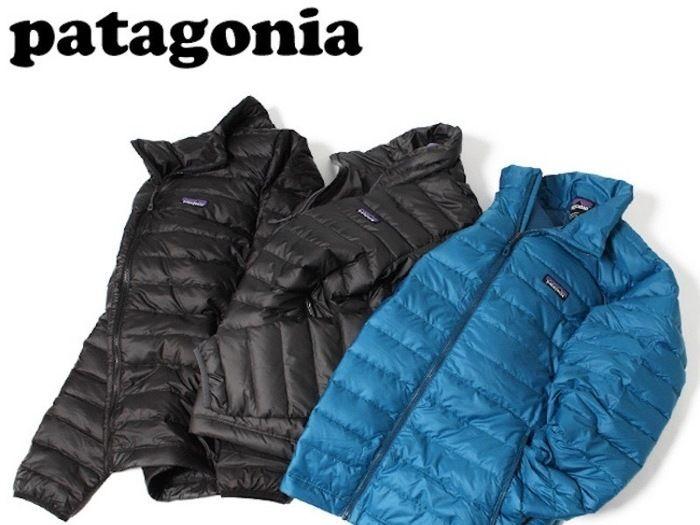 パタゴニアのダウンジャケットの画像