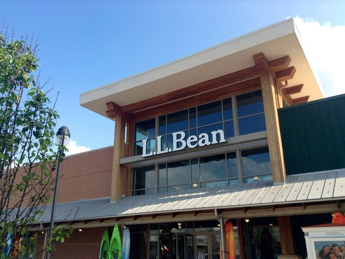 L.L.Beanの店舗の外観の写真