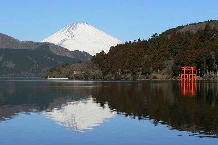 箱根からみた富士山