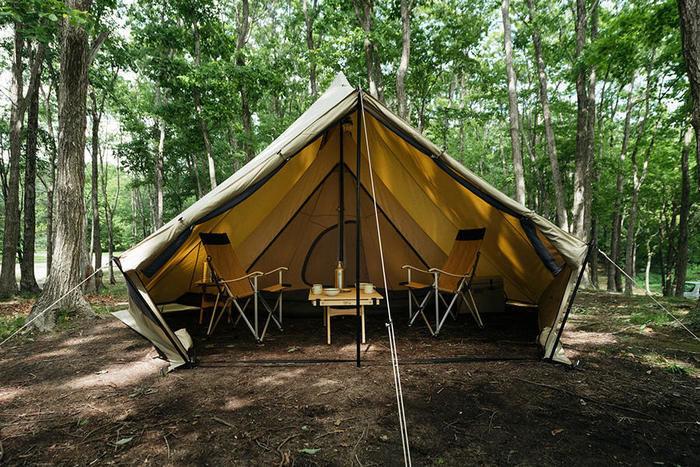 サバティカルのテント