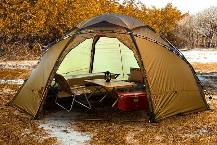 ヒルバーグ アトラスのテント