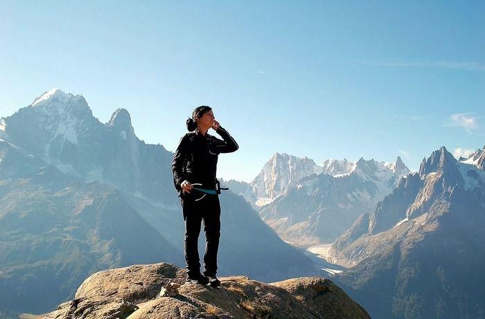 登山の様子