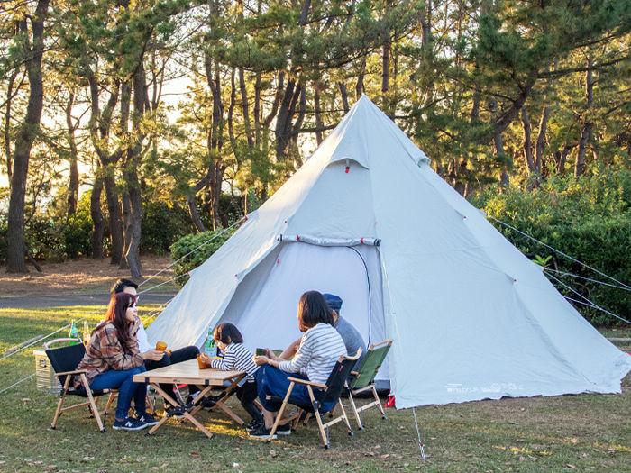 フィールドアのテント