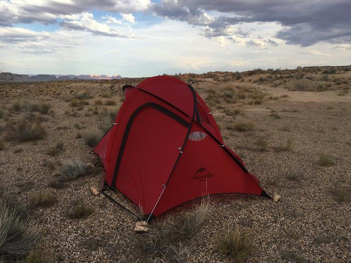 Naturehike(ネイチャーハイク)Hiby3のテント