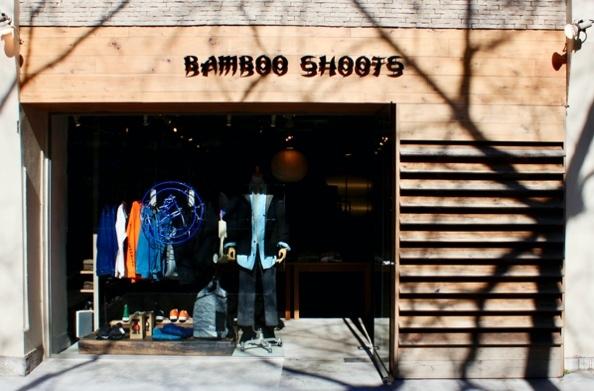アウトドアショップのBAMBOO SHOOTS