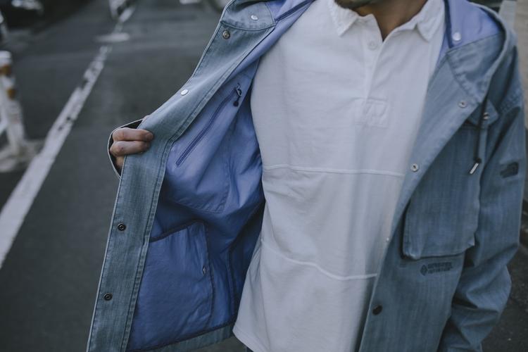 ザ・ノース・フェイス パープルレーベルのGORE-TEX INFINIUM Field Denim Jacket
