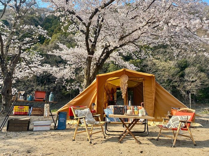 上小川レジャーペンションでキャンプしているアイキャッチ