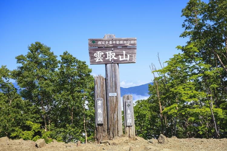 雲取山の風景
