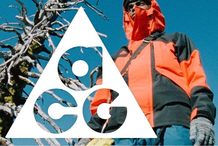 NIKE ACGのロゴと製品