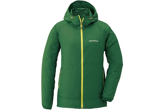 モンベルのジャケット