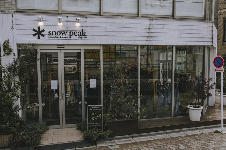 スノーピーク表参道の店舗写真