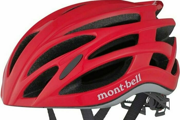 モンベルのサイクルヘルメットの画像