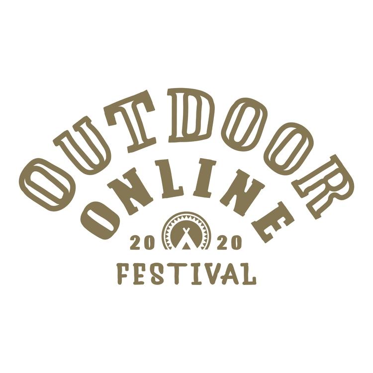 オンラインアウトドアフェスのロゴ