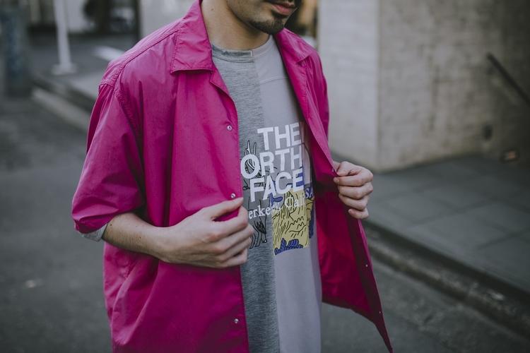 nanamicaDAIKANYAMAのイチオシ、オープンカラーシャツ