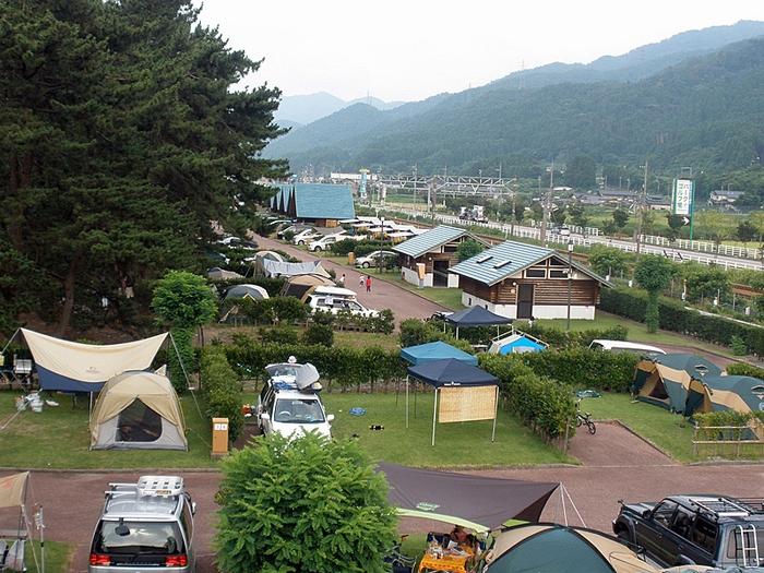 朝日ヒスイ海岸オートキャンプ場