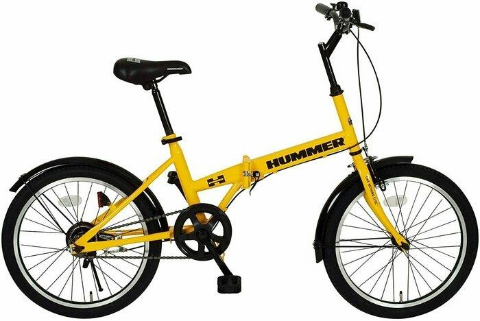ハマーの自転車の画像
