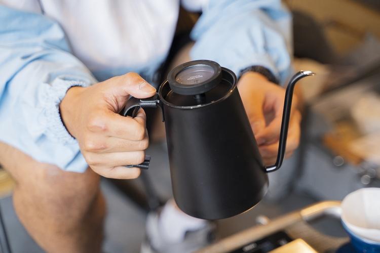金子さんのコーヒーケトル