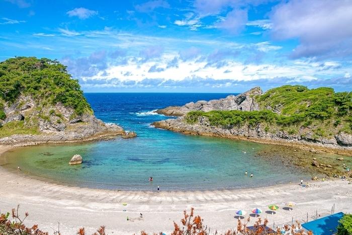 式根島の風景