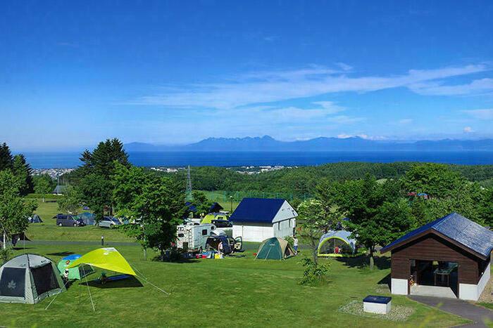 北海道立オホーツク公園 てんとらんどテントサイト