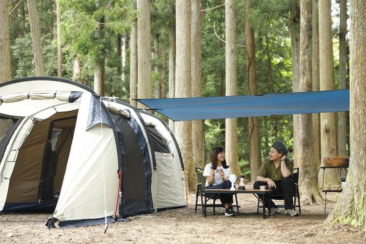 ホールアースのテント