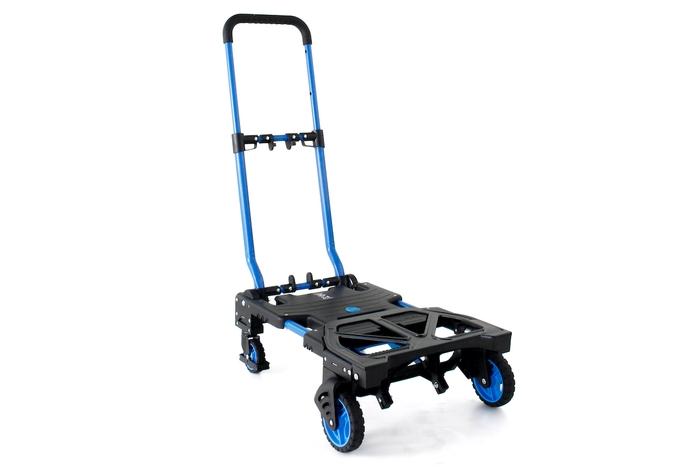 二輪にも四輪にも!ギアを楽に運べる花岡車輌「フラットカート」がビームスで展開