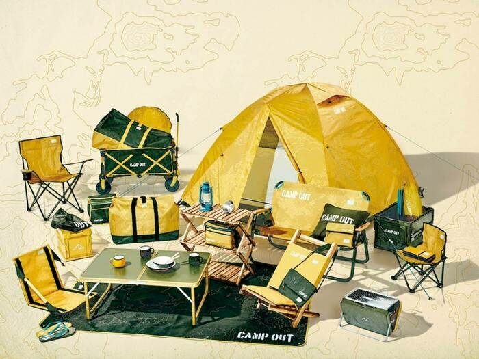 CAMP OUTの商品