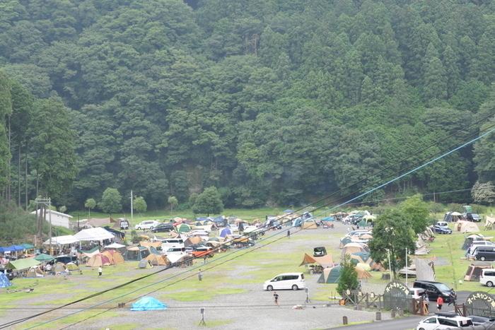 白川渡オートキャンプ場のキャンプサイトの画像