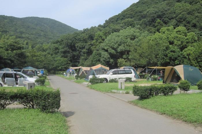 休暇村紀州加太のオートキャンプサイトの画像