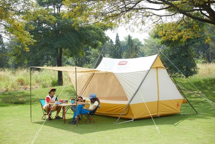チャムスのテント