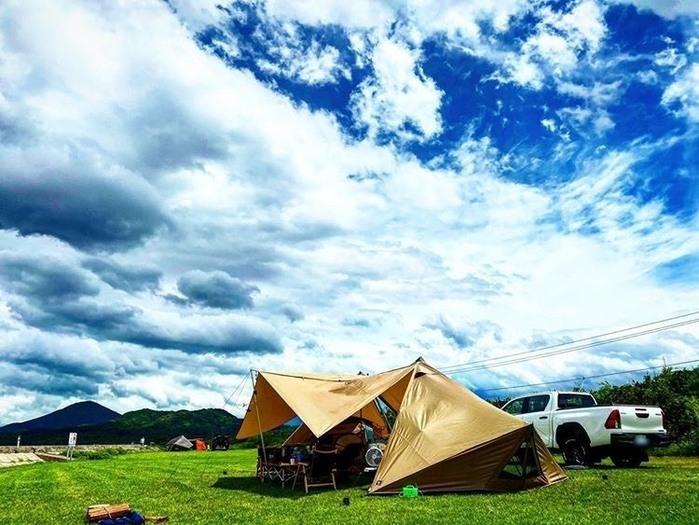 夏におすすめのテント