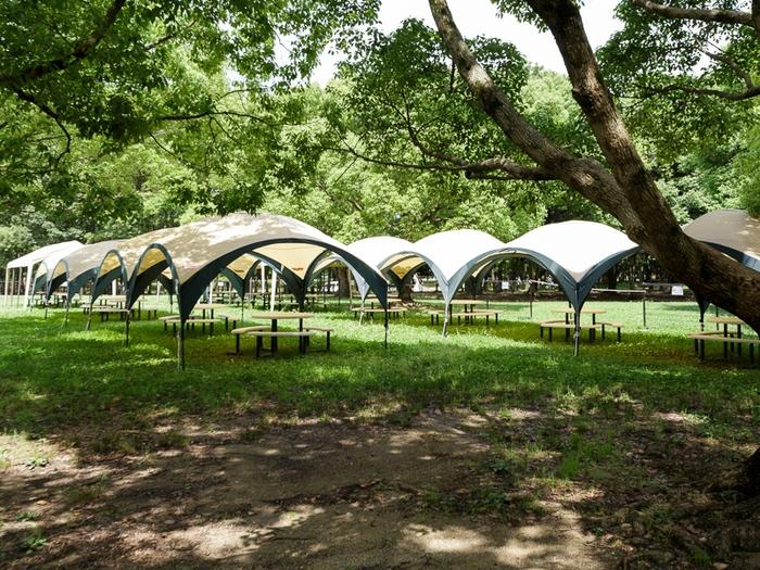 大泉緑地のバーベキュースポットの画像