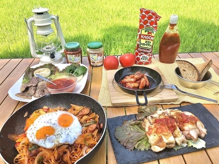 【カゴメ監修レシピ】キャンプでもおうちでも食べたくなるお手軽料理をマスター!