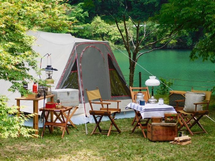 ヴィンテージキャンプのサイト