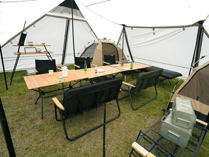 DODが巨大シェルター「ロクロクベース2」を発売!家族やグループで開放的なキャンプを実現!