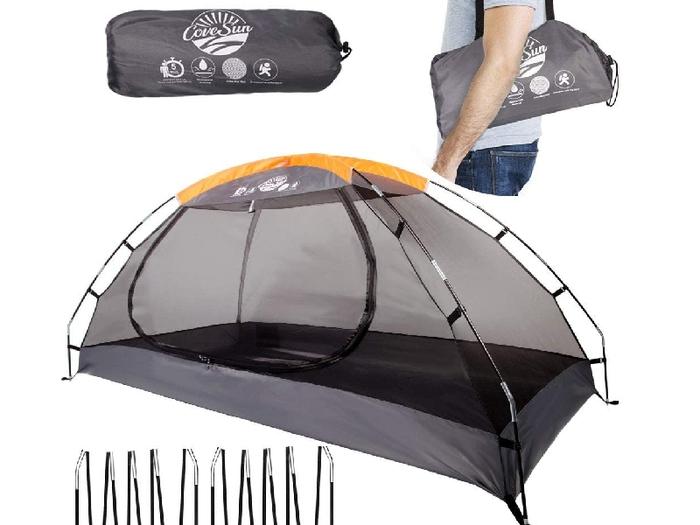 テントの蚊帳