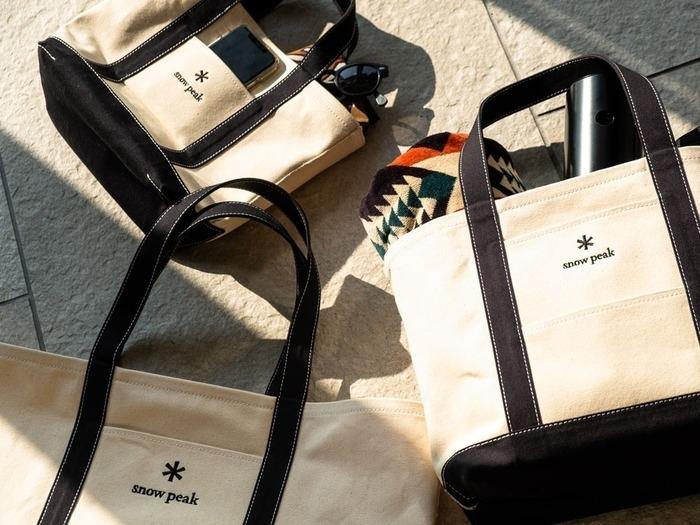 スノーピークファン必見!キャンドルホルダーとトートバッグが限定商品として登場!