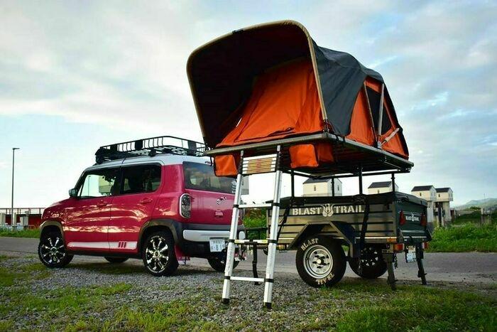 軽自動車で行くキャンプ