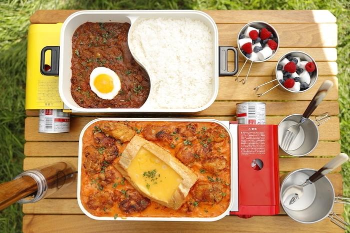 見た目もおいしいキャンプ飯!おそとでも楽しめるホットプレートレシピ特集