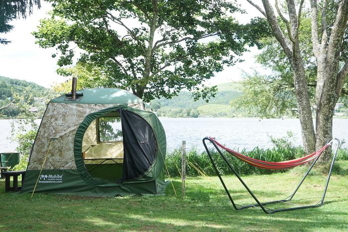 白樺湖のキャンプイベント