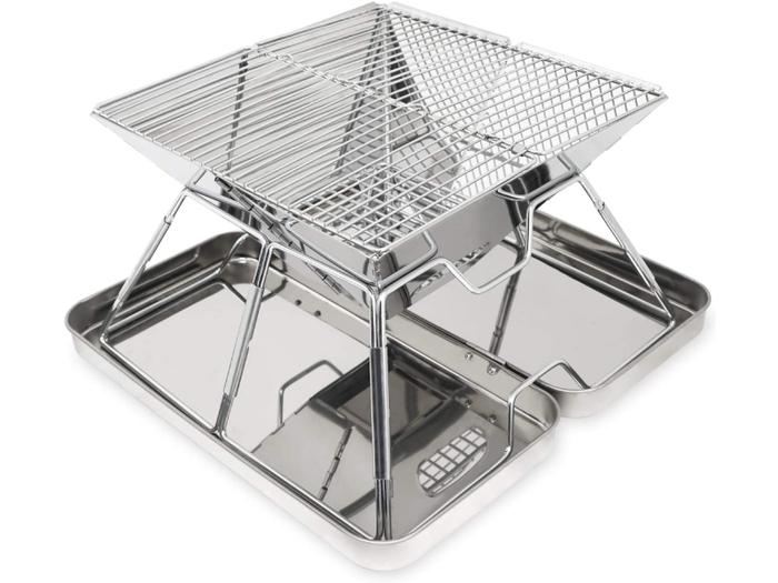 折りたたみ式のバーキューコンロ