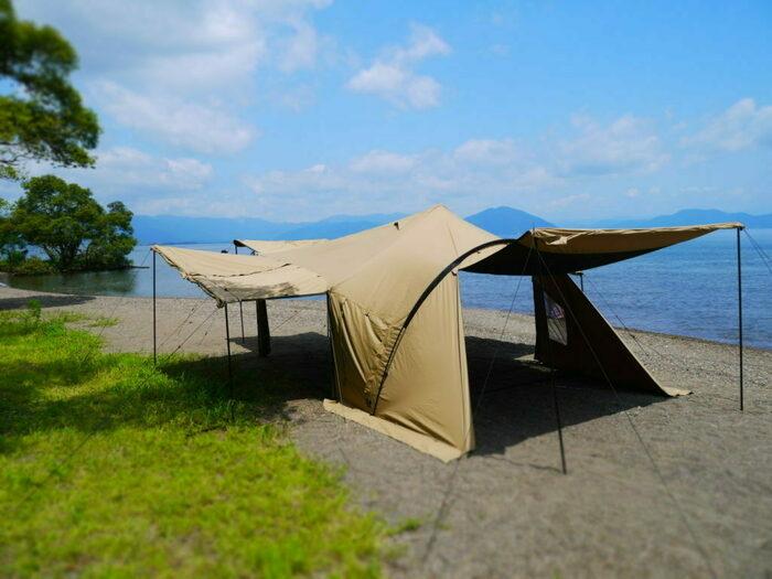 ラーテルワークスの新作テント