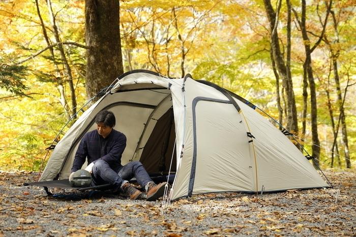 秋冬のソロキャンプで準備したいテントとシュラフ。選ぶ基準はコレ!