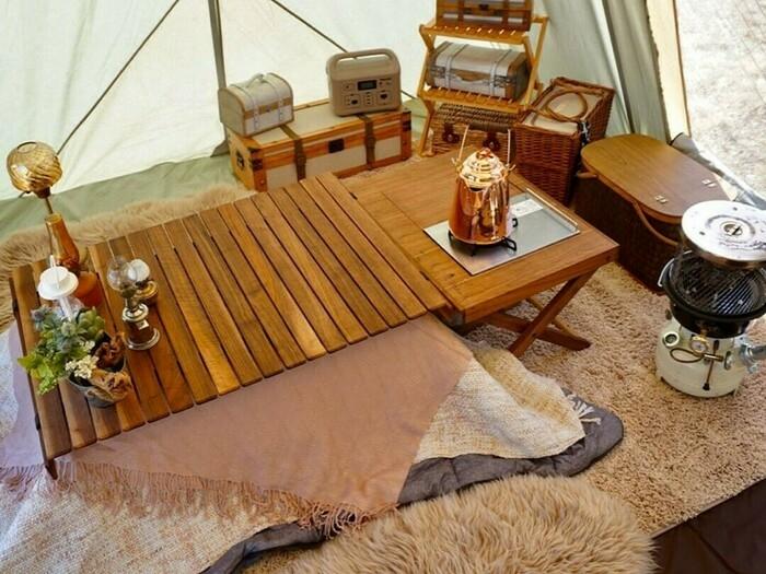 電源サイトで冬キャンプに挑戦!おうちにいるような快適さを作るには?